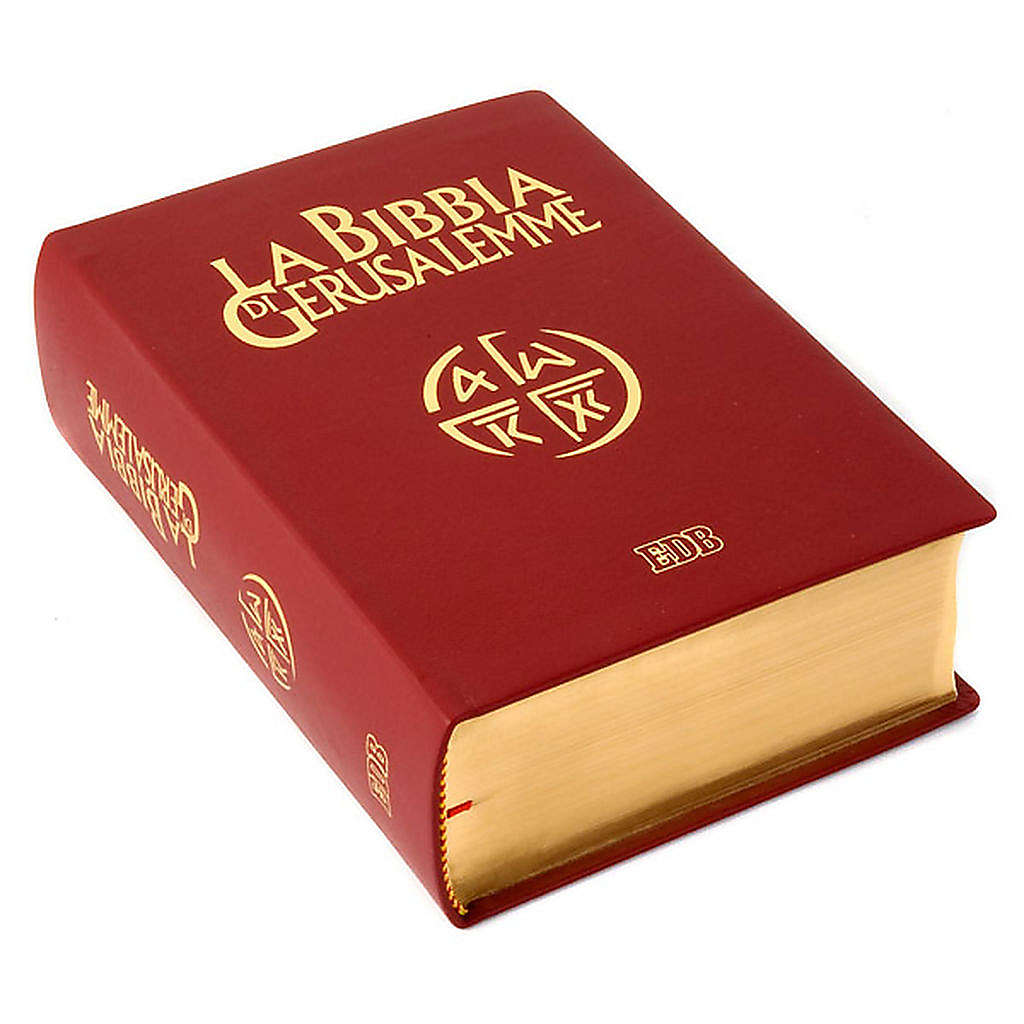 Bible of Jerusalem 2009 edition, genuine leather and gold 4