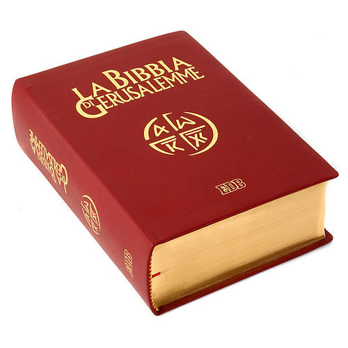Bible of Jerusalem 2009 edition, genuine leather and gold 3