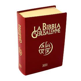 Bibbia Gerusalemme vera pelle bordo oro Nuova Traduzione s1