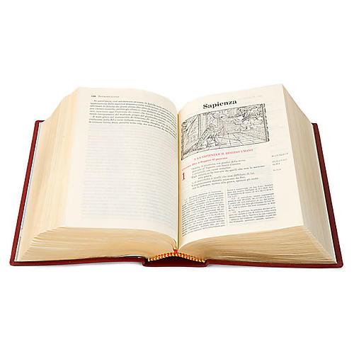 Bibbia Gerusalemme vera pelle bordo oro Nuova Traduzione 2