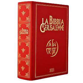 Biblia Jerusalén grande piel oro Nueva Trad. LENGUA ITALIANA s1