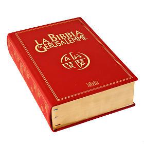 Biblia Jerusalén grande piel oro Nueva Trad. LENGUA ITALIANA s2