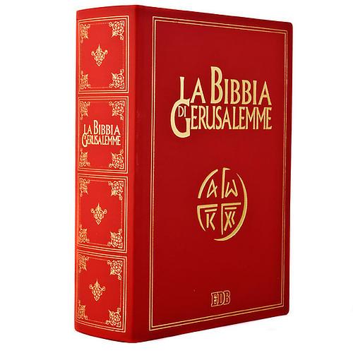 Biblia Jerusalén grande piel oro Nueva Trad. LENGUA ITALIANA 1