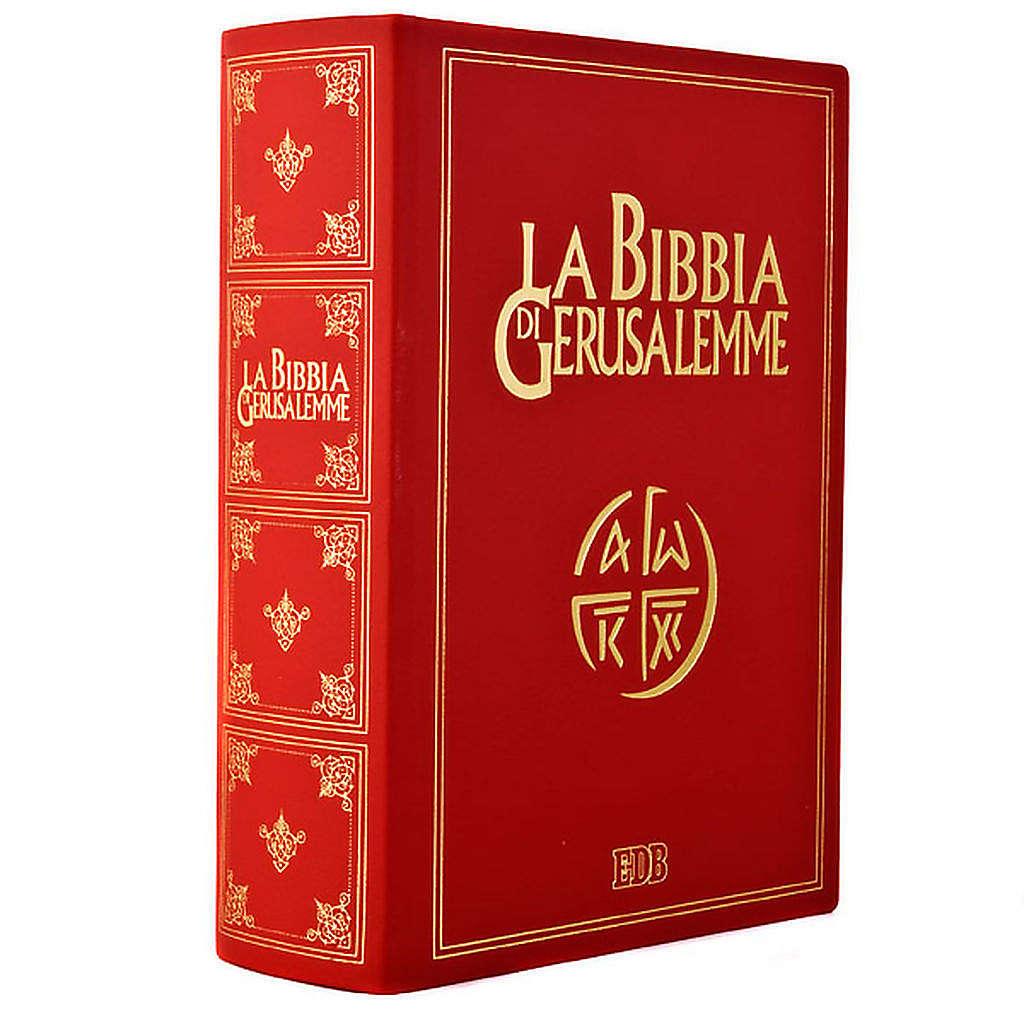 Bible of Jerusalem 2009, large-size, genuine leather 4
