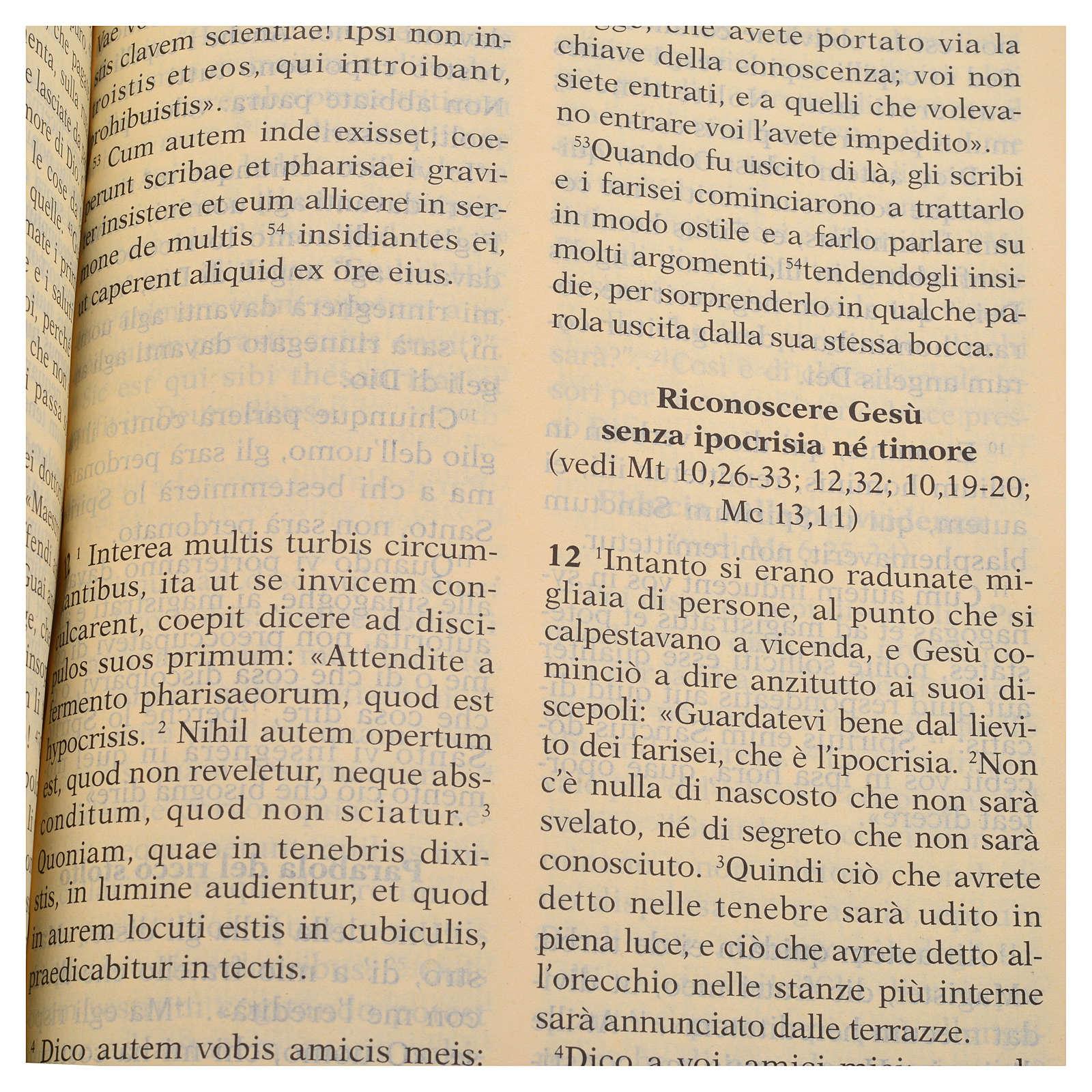 Bilingual Holy Bible in Latin and Italian 4