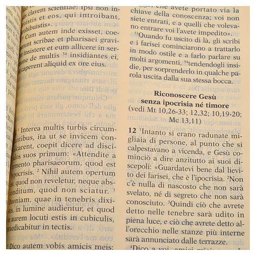 Bilingual Holy Bible in Latin and Italian 3