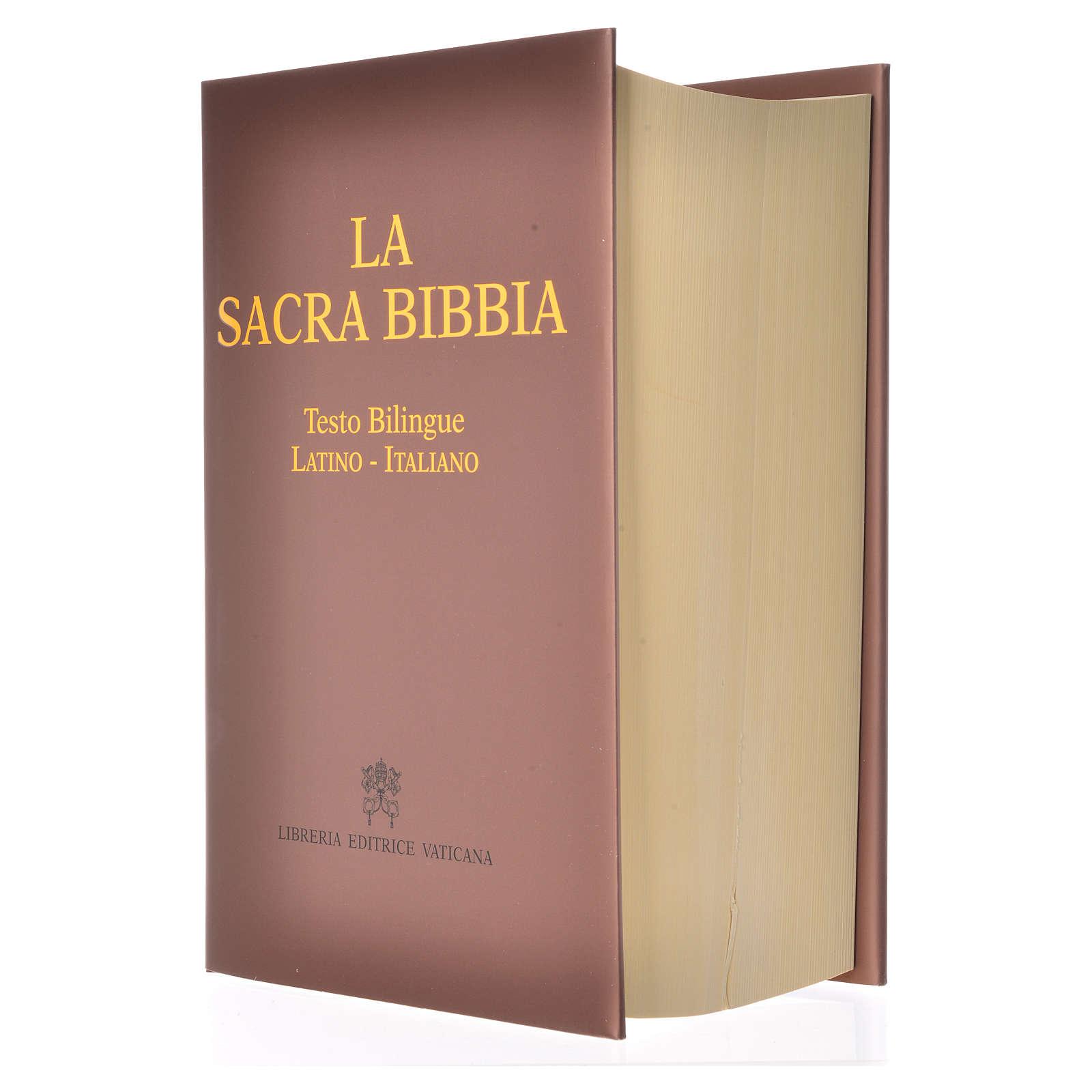 La Sacra Bibbia testo bilingue Latino Italiano 4