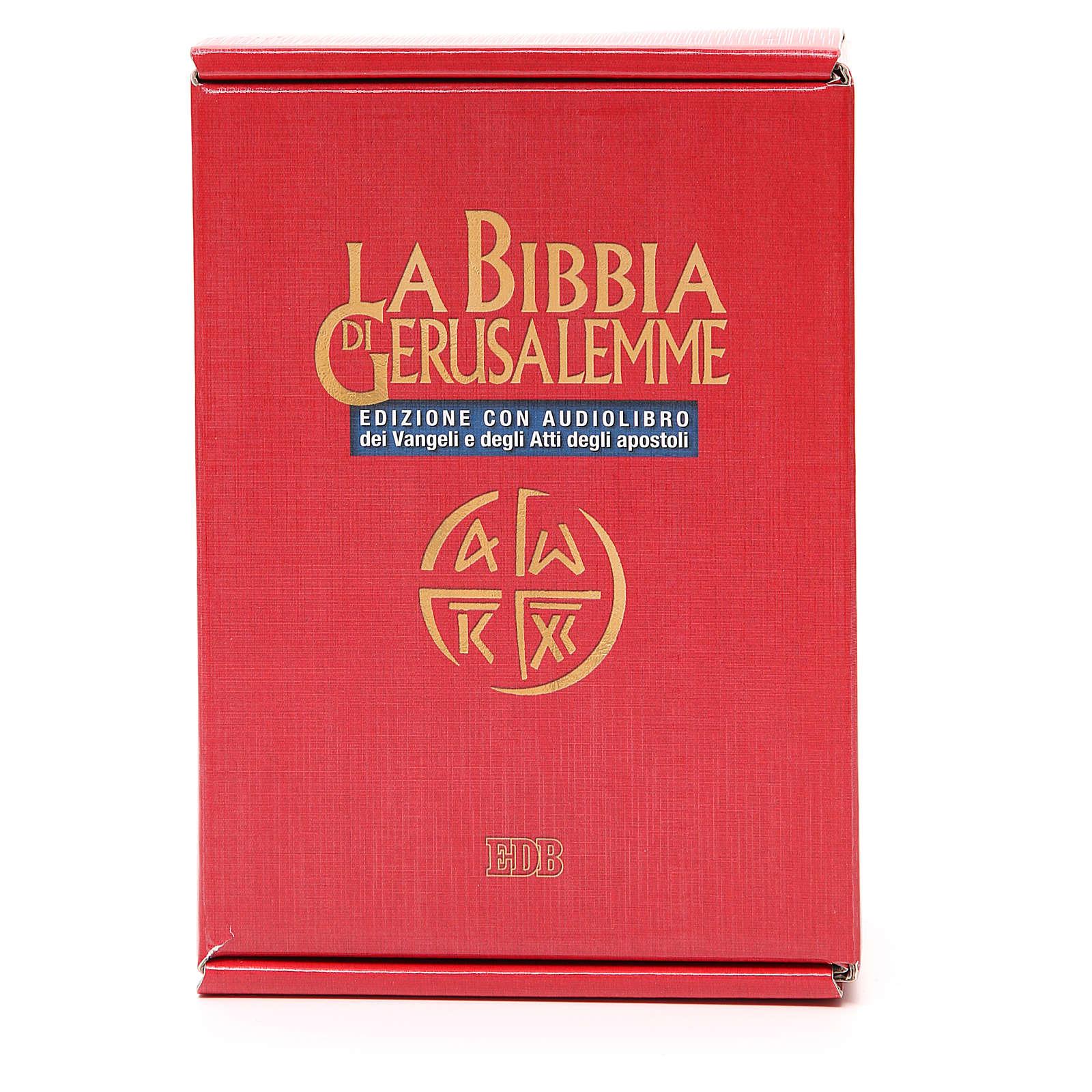 Biblia Jerusalén ITALIANO con CD 4