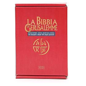 Biblia Jerusalén ITALIANO con CD s1