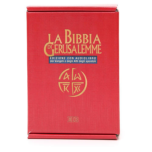 Biblia Jerusalén ITALIANO con CD 1