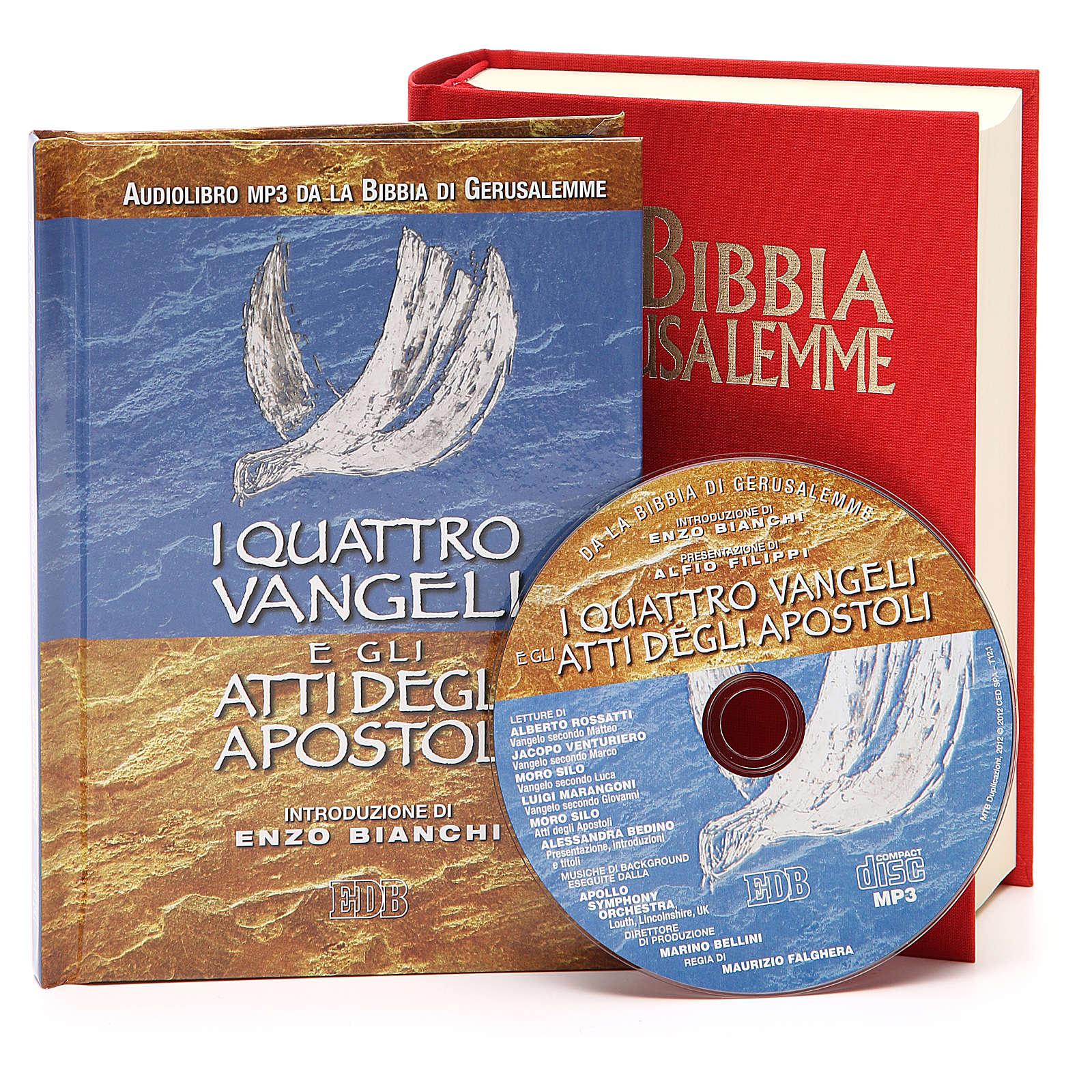 Bibbia di Gerusalemme Cofanetto Audiolibro 4