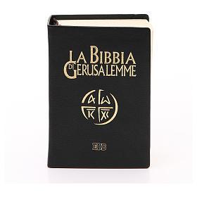 Jerusalem bible in beige leather pocket edition s1