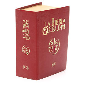 Jerusalem bible in red leather pocket edition s4