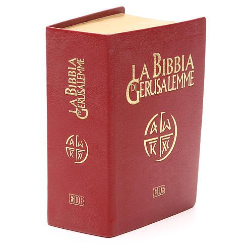 Jerusalem bible in red leather pocket edition 4