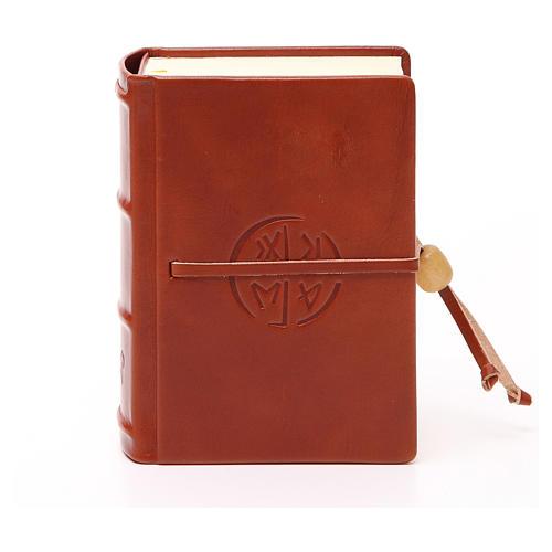Bibbia di Gerusalemme pelle tascabile rilievi 1