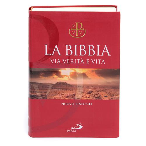 Bibbia Via Verità e Vita Nuovo Testo CEI 1