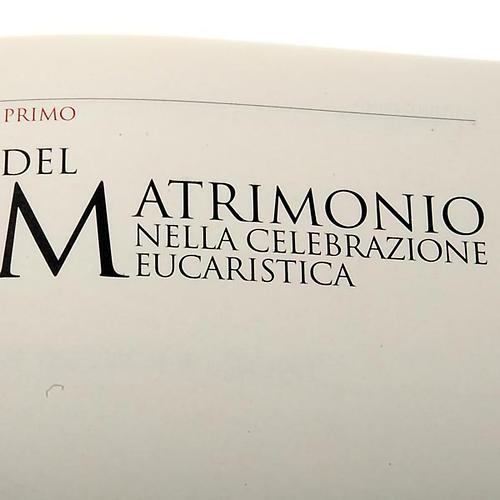 Messale festivo copertina rigida similpelle rossa 3