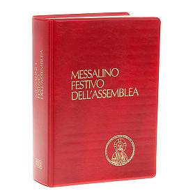 Messale festivo edizione tascabile copertina rossa (NO III EDIZIONE) s1