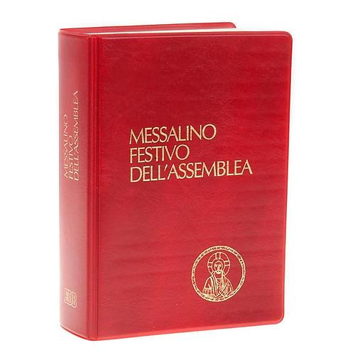 Messale festivo edizione tascabile copertina rossa (NO III EDIZIONE) 1