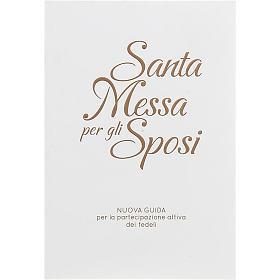 Santa messa per gli sposi copertina bianca rilievo oro s1