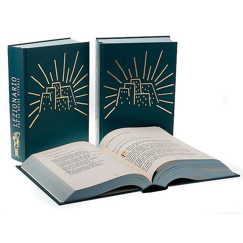 Lectionnaire des saints messes votives et rituels 3 volumes ITA 4