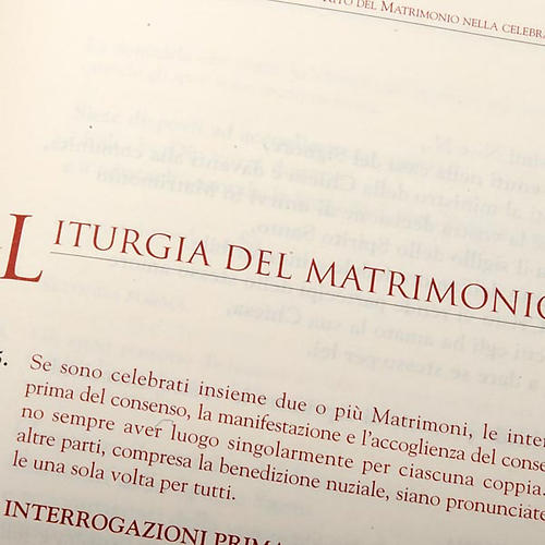 rituel du mariage, 2 vol. ITA 4