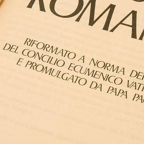 Missel romain édition réduite ITA 6