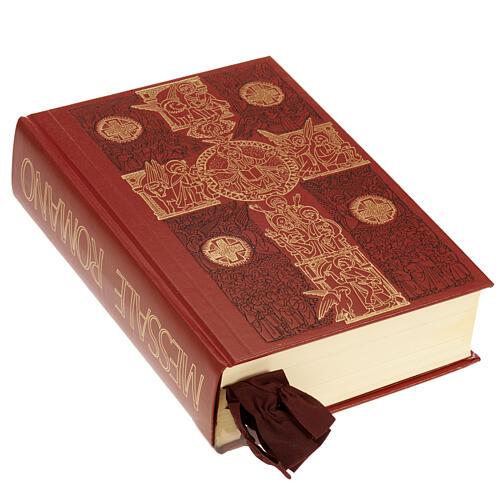 Carrilhão para celebração litúrgica quatro sinos latão dourado 2