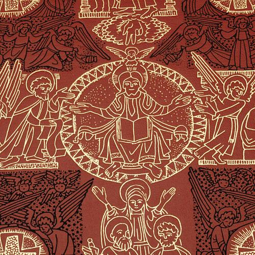 Carrilhão para celebração litúrgica quatro sinos latão dourado 3