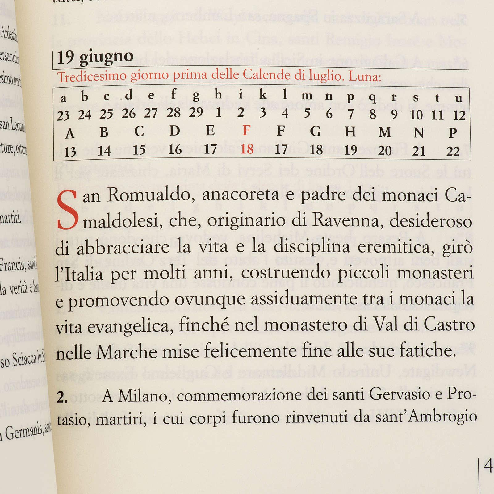 Martirologio romano riformato edizione 2007 4