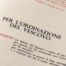 Ordinazione del Vescovo, dei Presbiteri, dei Diaconi s4