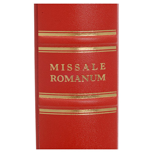 Misal Romano en latín - Missale romanum ex decreto SS.Concilii Tridentini R. S. P. C. R. 6