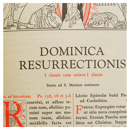 Missale romanum ex decreto SS.Concilii Tridentini R. S. P. C. R. - Missal em LATÍM 5
