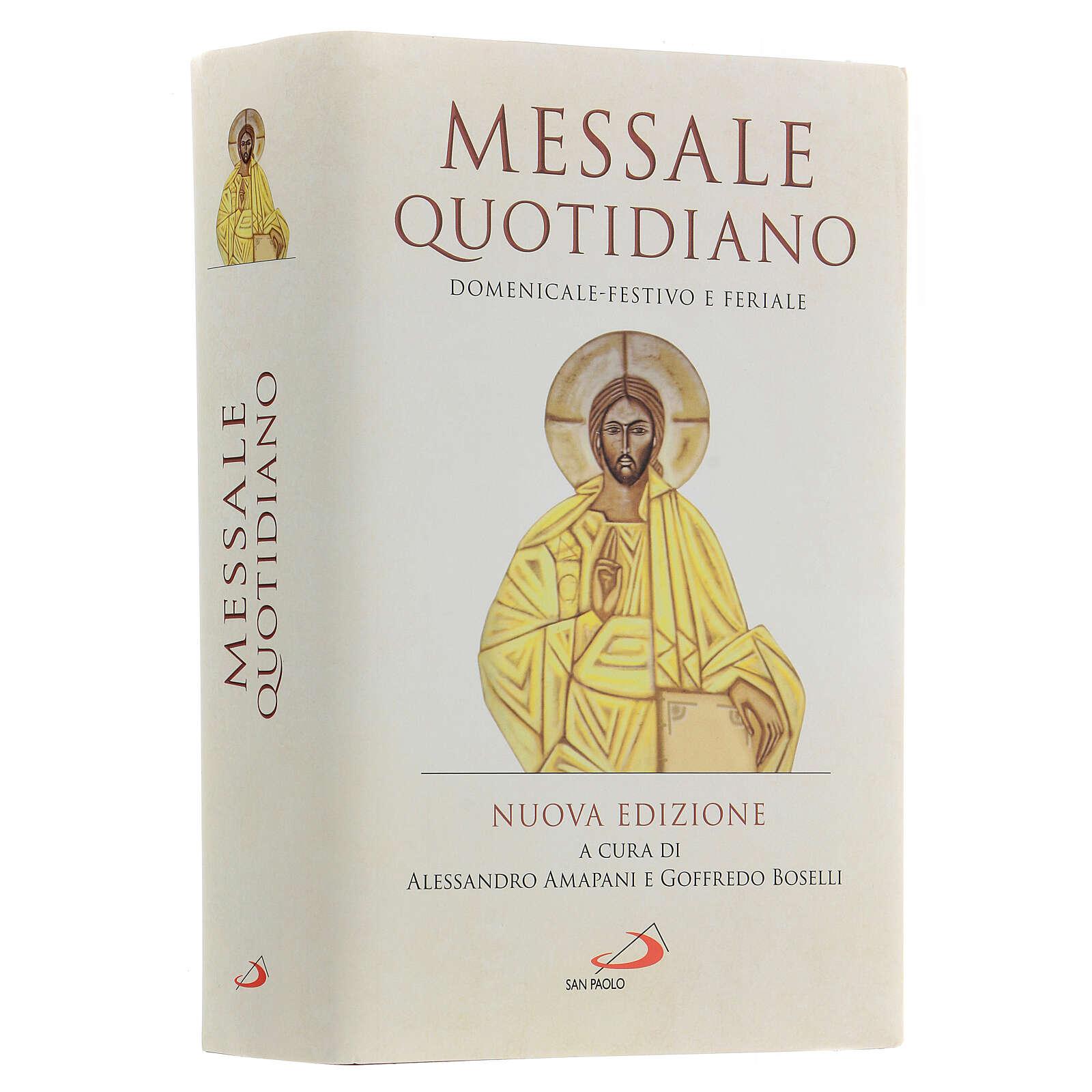Messale Quotidiano tascabile San Paolo III EDIZIONE 4