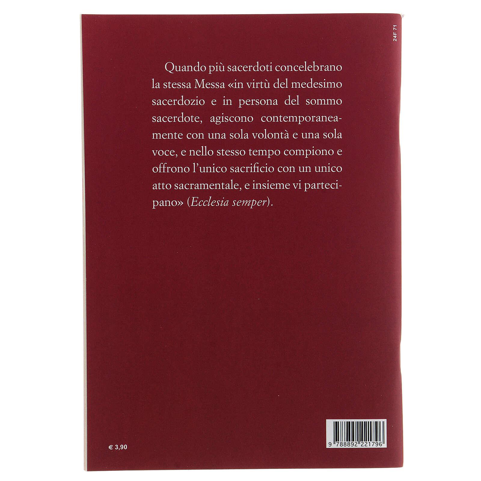 Preghiere Eucaristiche per la Concelebrazione III EDIZIONE tascabile 4