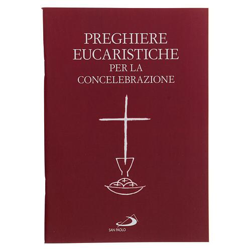 Preghiere Eucaristiche per la Concelebrazione III EDIZIONE tascabile 1