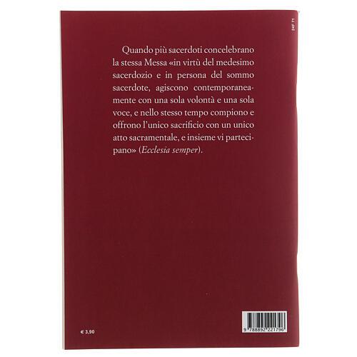 Preghiere Eucaristiche per la Concelebrazione III EDIZIONE tascabile 2