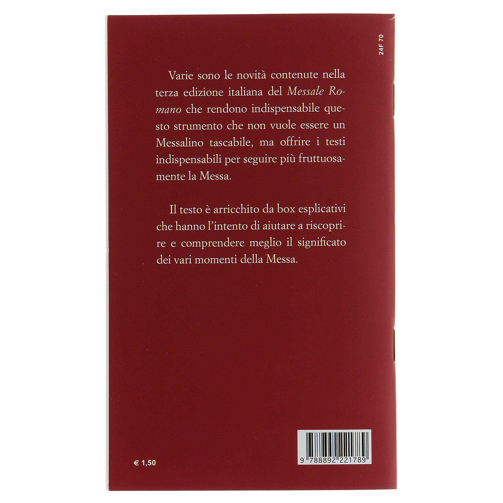 Il Nuovo Rito della Messa tascabile III EDIZIONE 4
