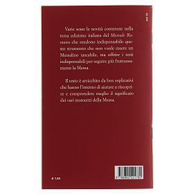 Il Nuovo Rito della Messa tascabile III EDIZIONE s2