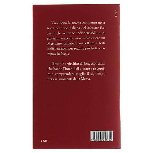 Il Nuovo Rito della Messa tascabile III EDIZIONE 2