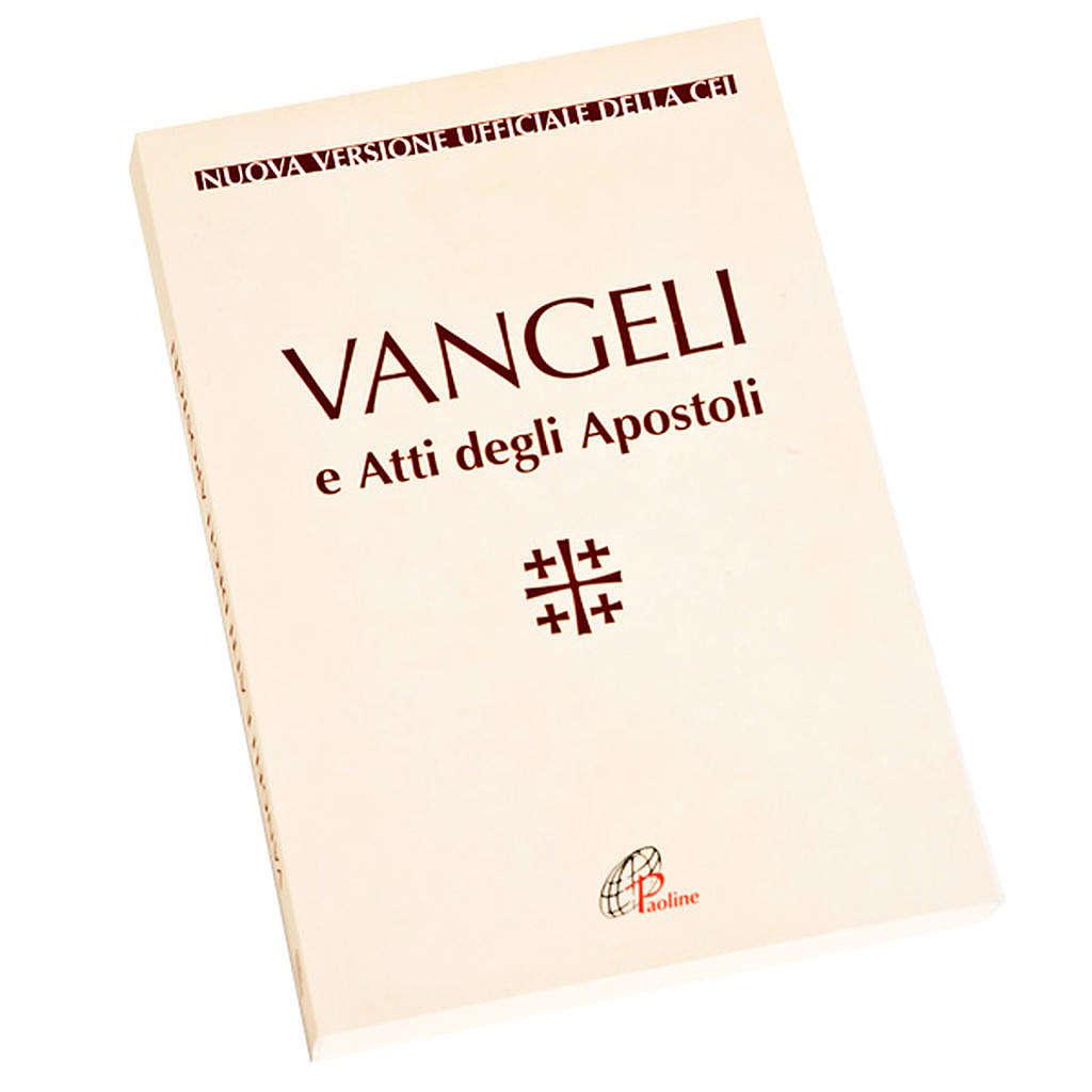 Évangile et Actes des Apôtres, blanc ITALIEN 4