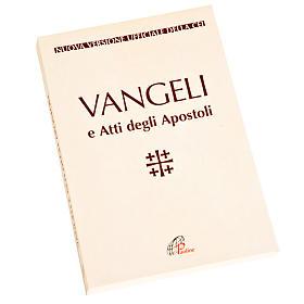 Évangile et Actes des Apôtres, blanc ITALIEN s1