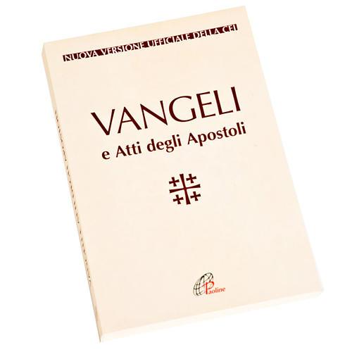 Évangile et Actes des Apôtres, blanc ITALIEN 1