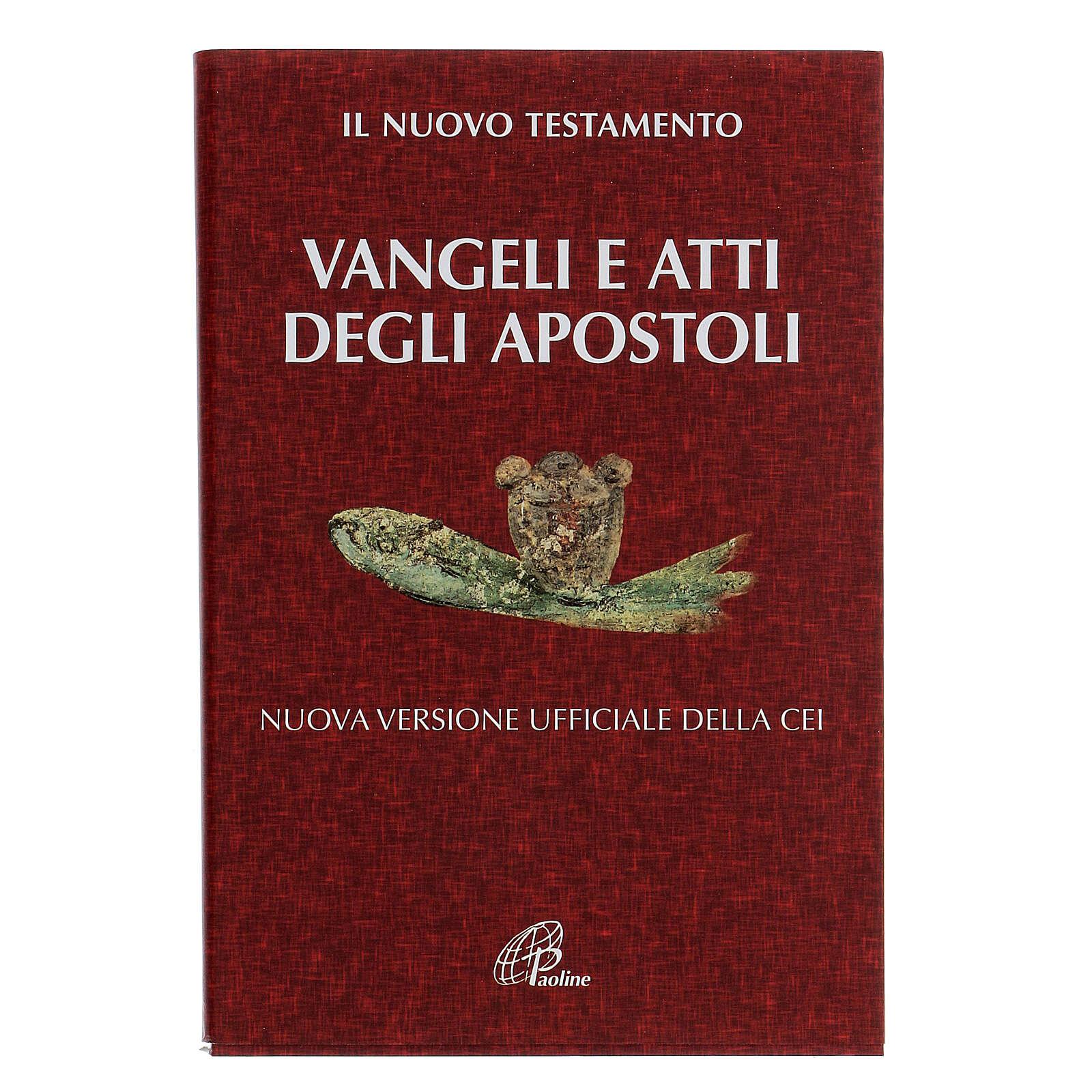 Evangelium und Apostelgeschichte. Neue Ausgabe. 4