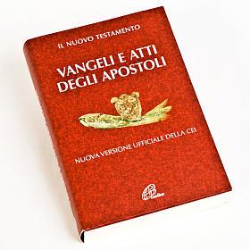 Évangiles: Évangile et Actes des Apôtres,rouge ITALIEN