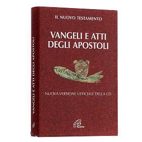 Évangile et Actes des Apôtres,rouge ITALIEN s2