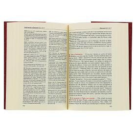Évangile et Actes des Apôtres,rouge ITALIEN s3