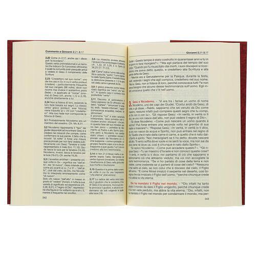Évangile et Actes des Apôtres,rouge ITALIEN 3