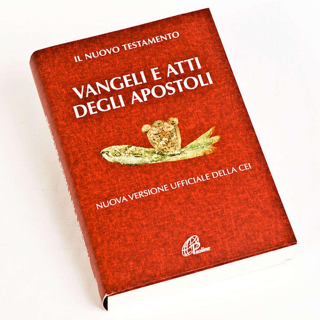 Vangelo e Atti degli Apostoli Rosso 4