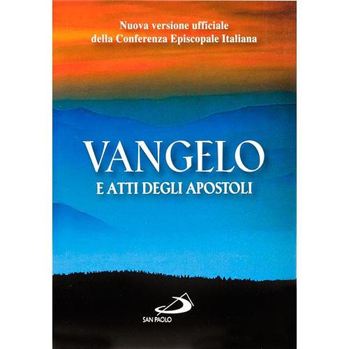 Vangelo e atti degli apostoli nuova versione ufficiale CEI 1